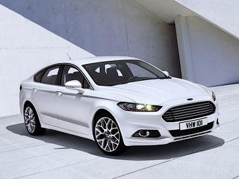 Появились фотографии нового Ford Mondeo