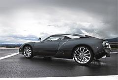 Spyker C12 Zagato - фотогалерея