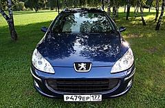 Peugeot 407 SW. Фотогалерея