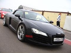 Фотогалерея с тест-драйва Audi R8, A5 и TT
