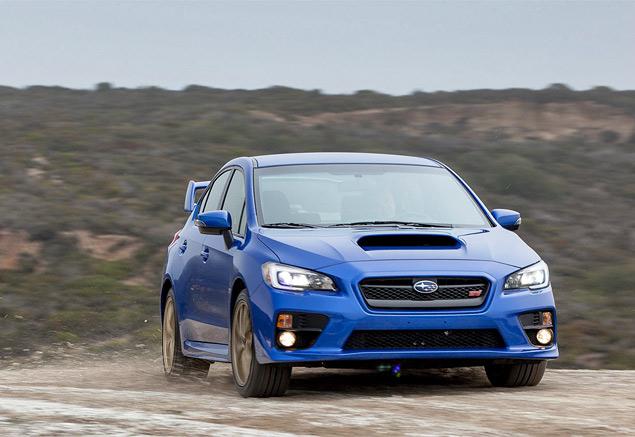 Subaru STI нового поколения