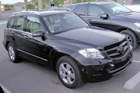 Mercedes-Benz GLK 2013 года - первые фото