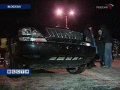_Лексус_ из сюжета _Вестей_, кадр телеканала _Россия_