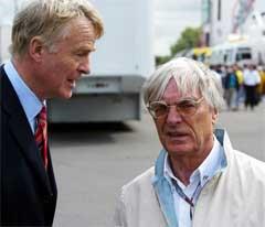 Макс Мосли и Берни Экклстоун. Фото с сайта autosport.com