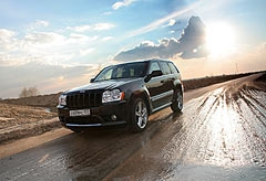 Фотогалерея Jeep Grand Cherokee SRT8
