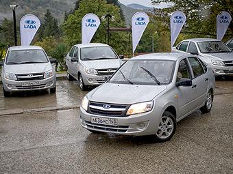 В 2011 году `АвтоВАЗ` продал 1023 `Гранты`