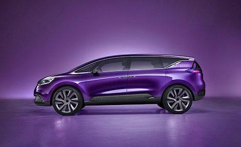 Во Франкфурте показали концепт на замену Renault Espace.
