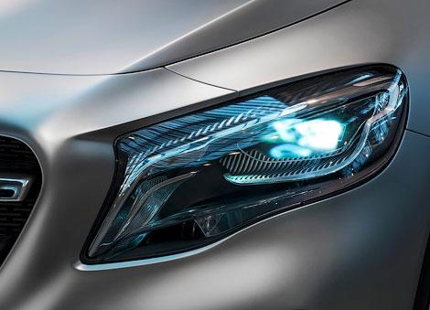 Mercedes-Benz разработал фары-проекторы с миллионом зеркал
