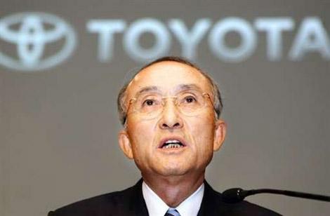 Глава Toyota Катсуаки Ватанабэ (Katsuaki Watanabe)