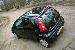 Фотогалерея Peugeot 107