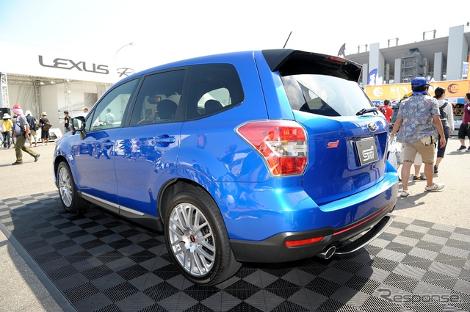 Subaru представила заряженный Forester STI tS