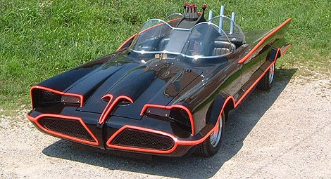Lincoln Batmobile Re-Creation