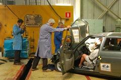 Краш-тест Lada Priora - фотогалерея