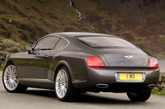 Фотогалерея Bentley Continental GT Speed