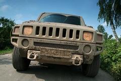 Hummer и Wrangler - фотогалерея