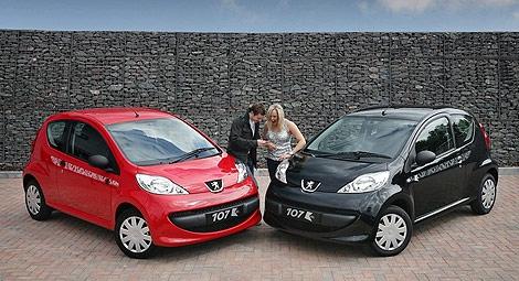 Peugeot 107 KISS