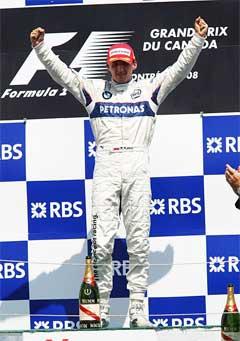 Роберт Кубица. Фото с сайта издания Autosport