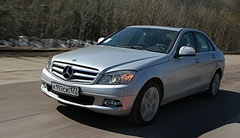 Российская премьера Mercedes C-Class - фотогалерея