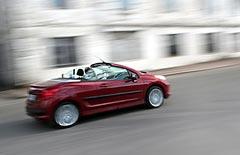 Фотогалерея Peugeot 207 CC