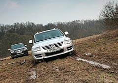 Фотогалерея теста VW Touareg