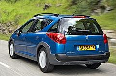 Фотогалерея Peugeot 207 SW Outdoor