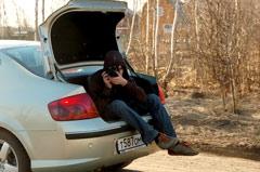 Peugeot 407 мы использовали в качестве фото-кара