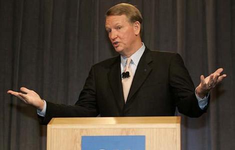 Генеральный директор GM Рик Вагонир (Rick Wagoner)