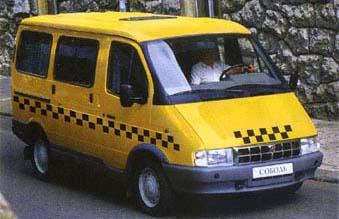 Соболь-такси ГАЗ-221703