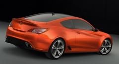 Concept Genesis Coupe, фото Hyundai