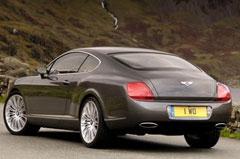 Фотогалерея Bentley Continental GT Speed